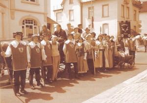 Stadtwache 2011 auf dem Hessentag in Oberursel