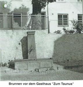 Brunnen vor GzTaunus