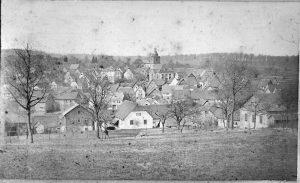 Blick auf Heftricher Kirche um 1910